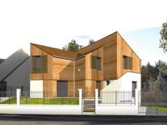 Maison neuve, Site-in, Wissous (91).