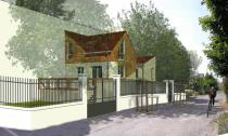Projet d'agrandissement, Site-in, Rueil-Malmaison.