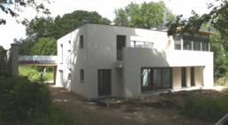 Maison, groupe de deux maisons isolées, Site-in.