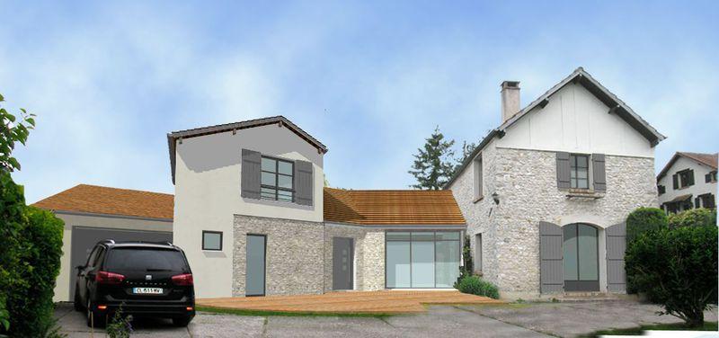 Agrandissements architecte 78 for Agrandissement toiture